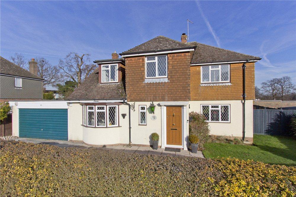 4 Bedrooms Detached House for sale in Orchard Drive, Edenbridge, Kent