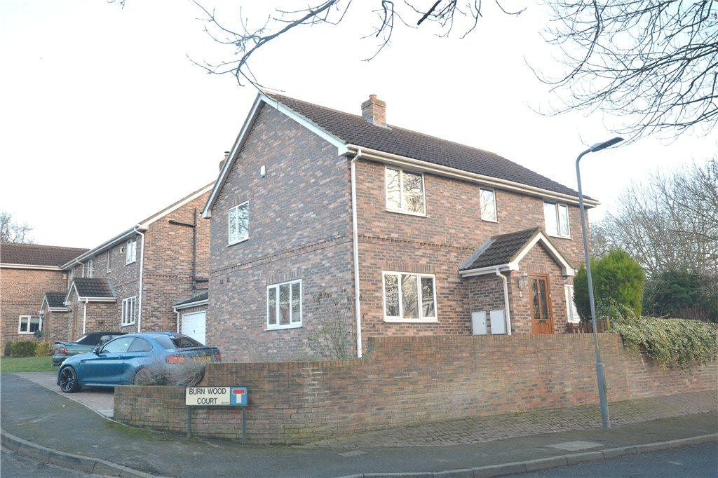 4 Bedrooms Detached House for sale in Burn Wood Court, Long Newton, Stockton-on-Tees