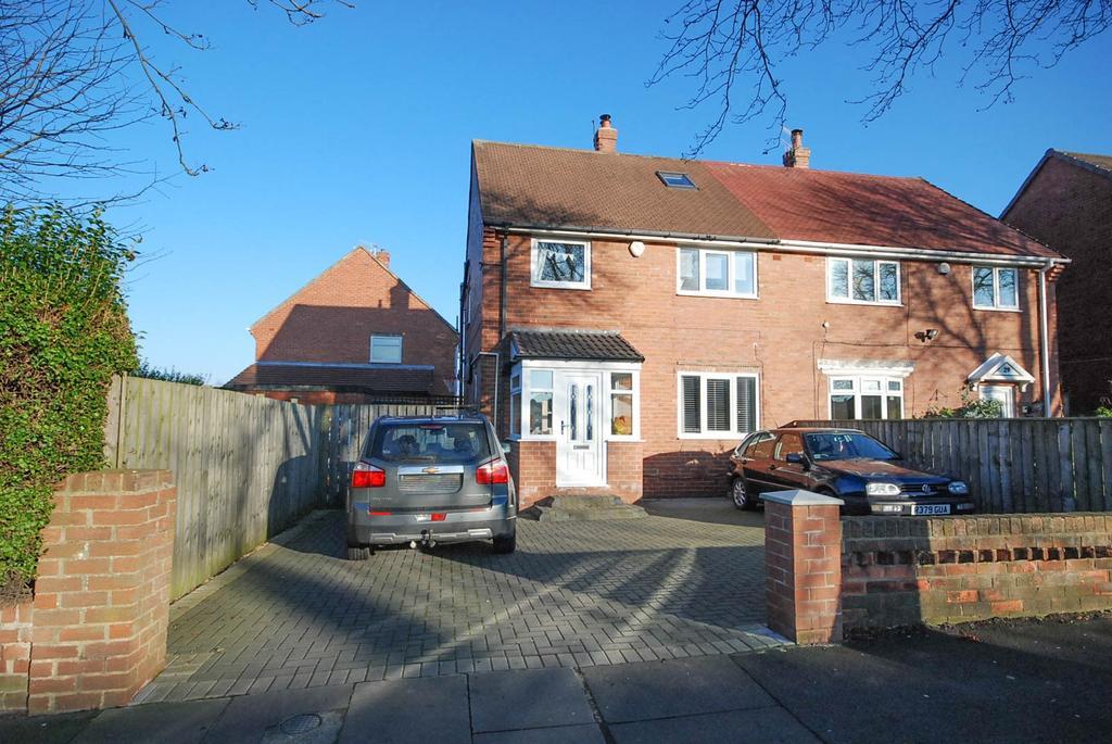 3 Bedrooms Semi Detached House for sale in Kirkwood Gardens, Wardley