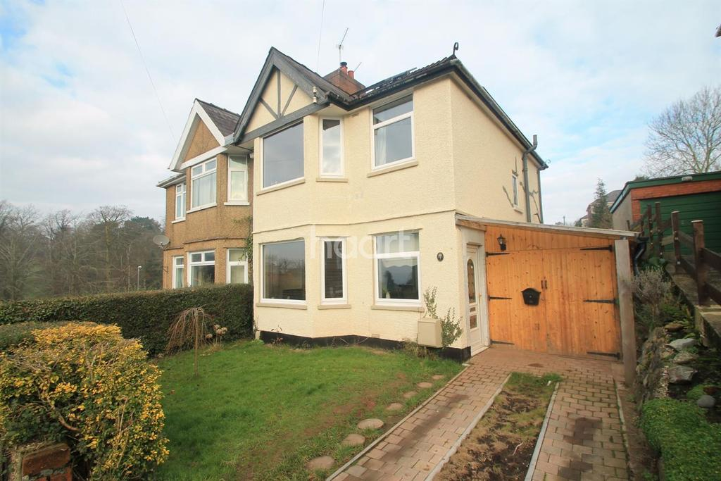3 Bedrooms Semi Detached House for sale in Penylan Road, Beechwood, Newport