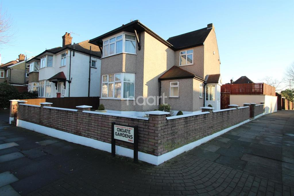 3 Bedrooms Detached House for sale in Oxgate Gardens, NW2