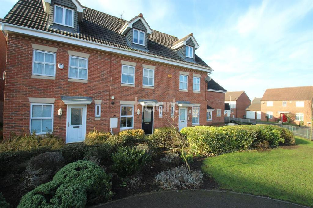 3 Bedrooms Terraced House for sale in Carty Road, Hamilton, Leicester LE5