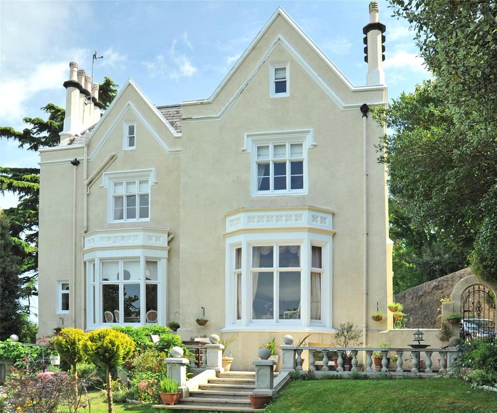 5 Bedrooms Detached House for sale in Lower Woodfield Road, Torquay