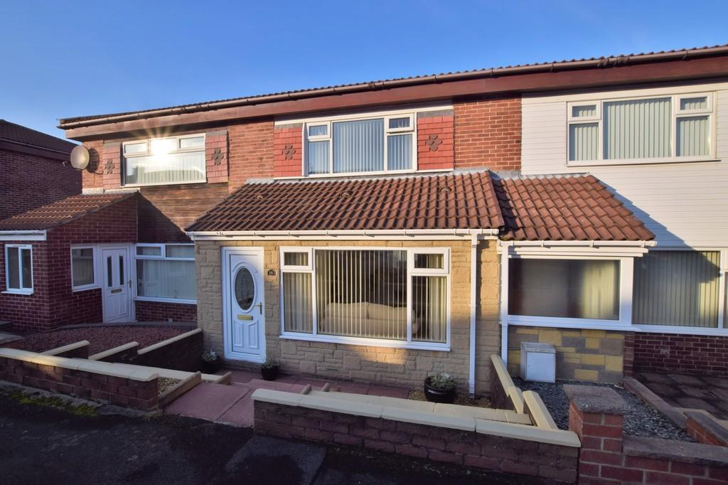 2 Bedrooms Terraced House for sale in Windsor Drive, Catchgate, Stanley
