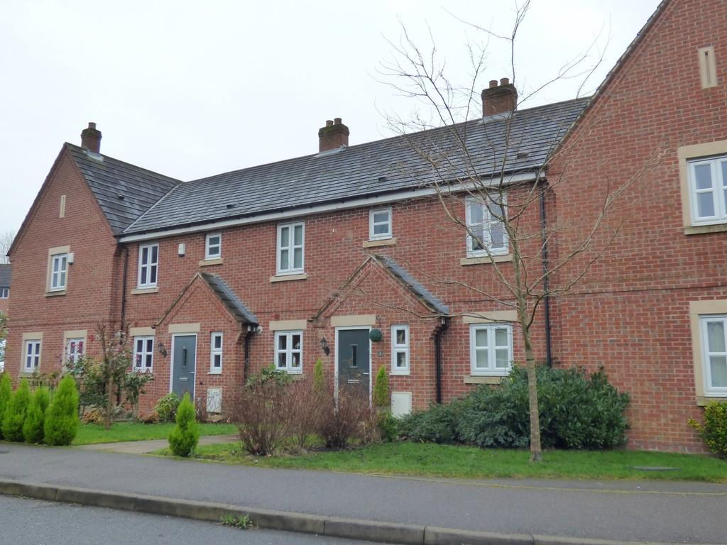 3 Bedrooms Terraced House for sale in Bernard Gadsby Close, Ashbourne