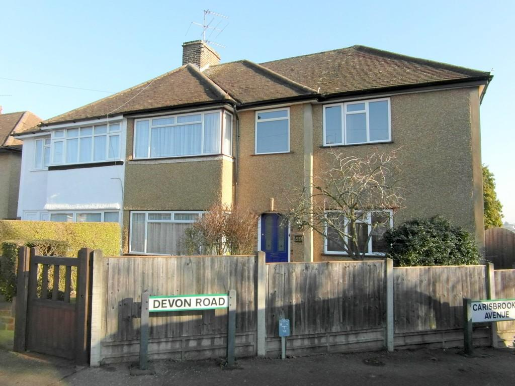 4 Bedrooms Semi Detached House for sale in Devon Road, Watford