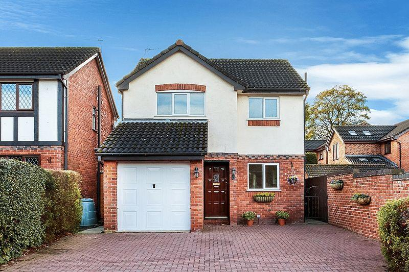 3 Bedrooms Detached House for sale in The Moorings, Congleton