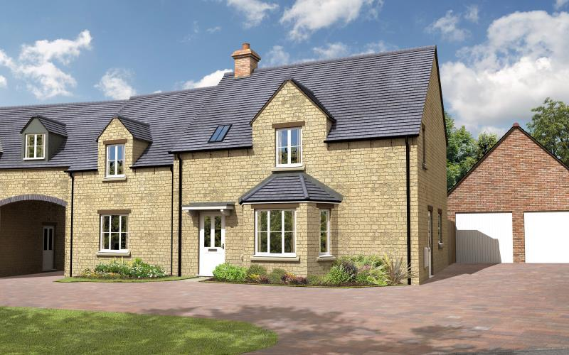 4 Bedrooms Semi Detached House for sale in The Larch, Charity Farm, Woodstock Road, Stonesfield, Witney, Oxfordshire