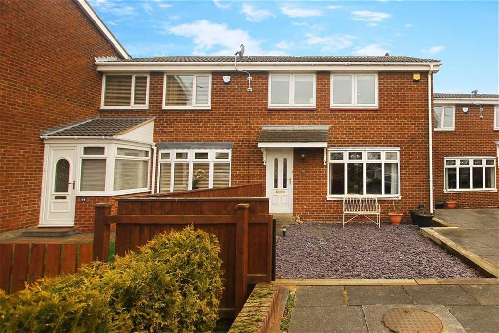 3 Bedrooms Terraced House for sale in Barrowburn Place, Cramlington, Northumberland