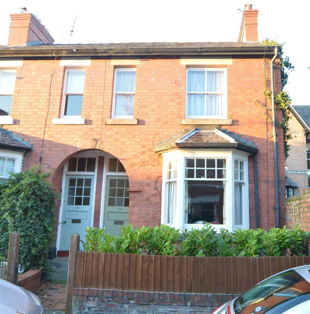 3 Bedrooms Terraced House for sale in 12 Longner Street, Mountfields, Shrewsbury SY3 8QS