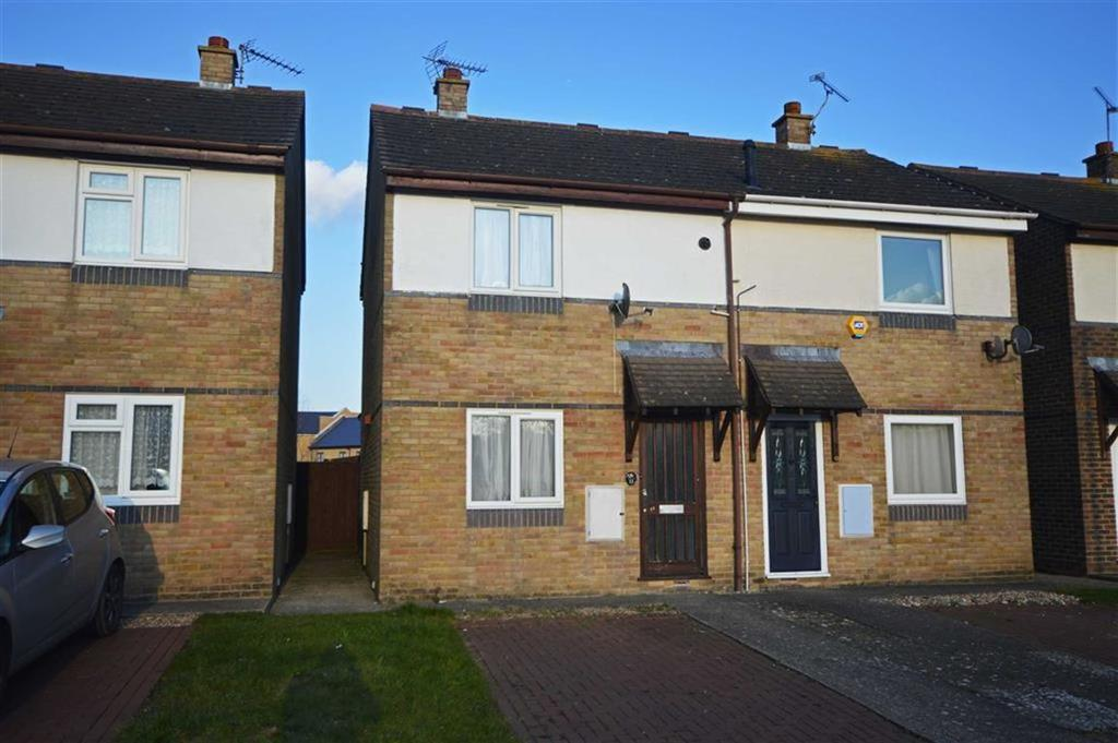 2 Bedrooms Semi Detached House for sale in Beazley Court, Ashford, Kent