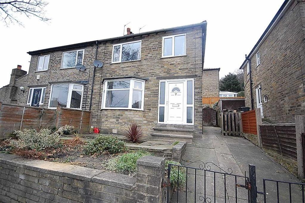 3 Bedrooms Semi Detached House for sale in Edwards Road, Pye Nest, Halifax, HX2