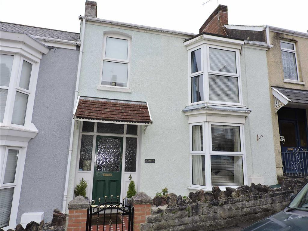 3 Bedrooms Terraced House for sale in Woodville Road, Mumbles