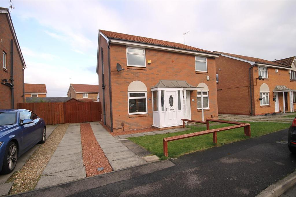 2 Bedrooms Semi Detached House for sale in Stonethwaite Close, Hartlepool