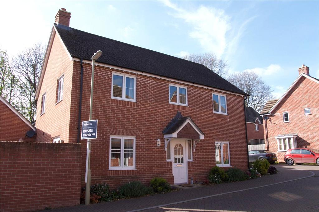 4 Bedrooms Detached House for sale in Downlands Way, South Wonston, Winchester, SO21