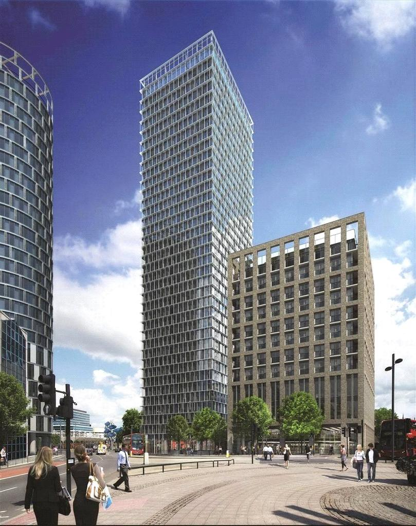 2 Bedrooms Flat for sale in Stratosphere, Stratford, London