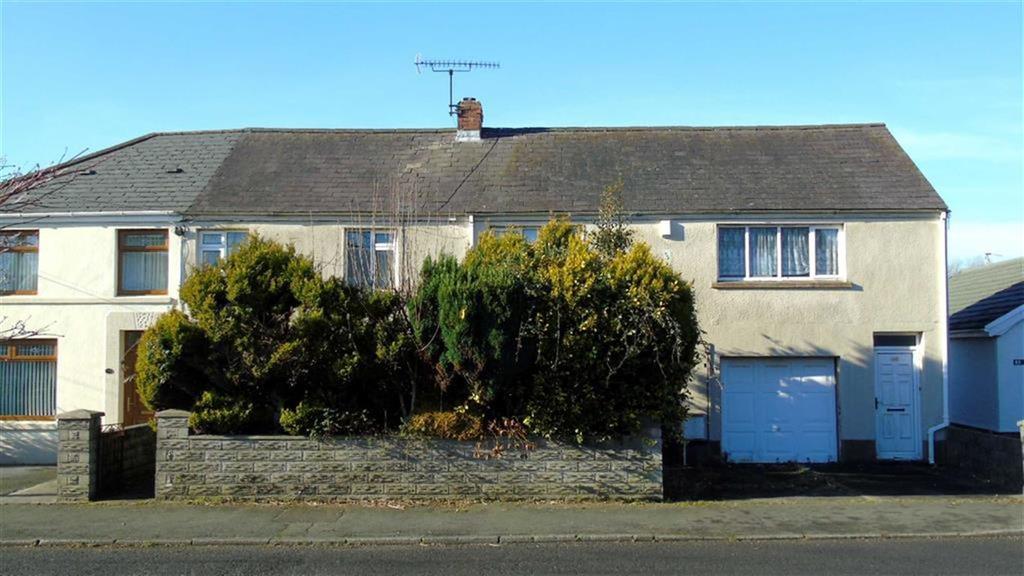 4 Bedrooms Semi Detached House for sale in Glynhir Road, Swansea, SA4