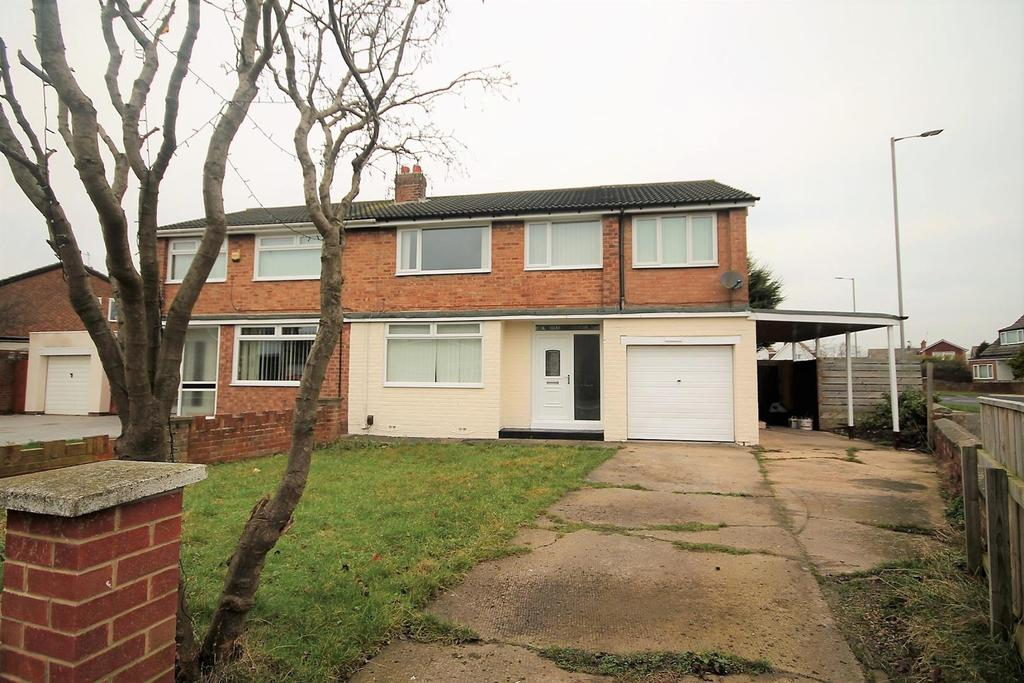 5 Bedrooms Semi Detached House for sale in Tunstall Avenue, Billingham