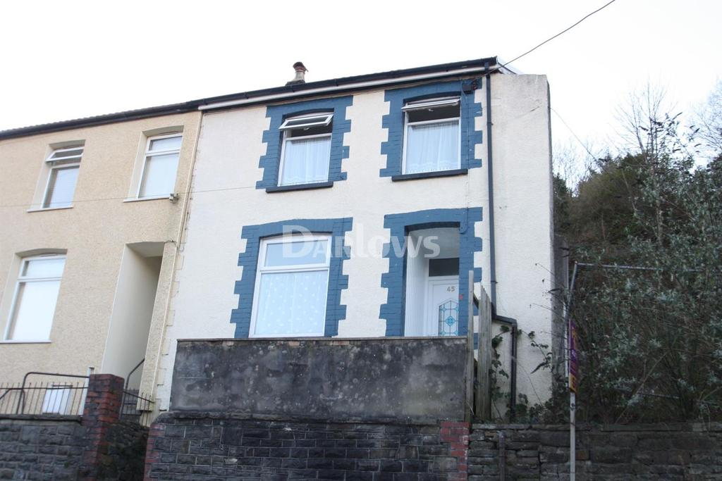3 Bedrooms End Of Terrace House for sale in Woodland Rd, Tylorstown