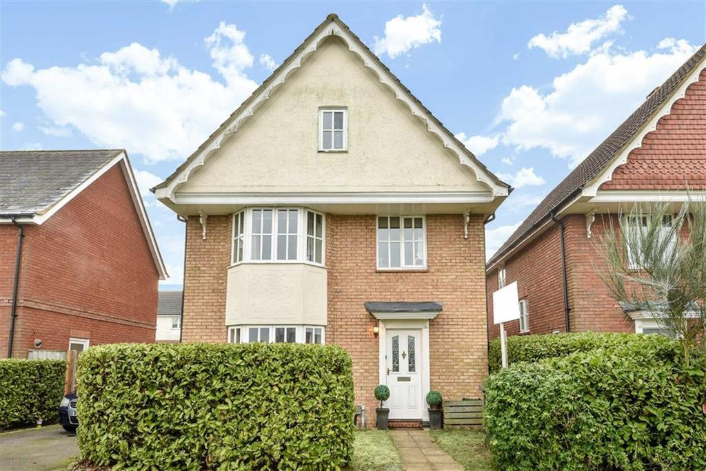 4 Bedrooms Detached House for sale in Kirkefields, Cardwell Keep, Guildford, Surrey, GU2