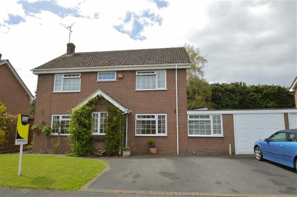 4 Bedrooms Detached House for sale in Beechwood Drive, Ellesmere Road, Shrewsbury