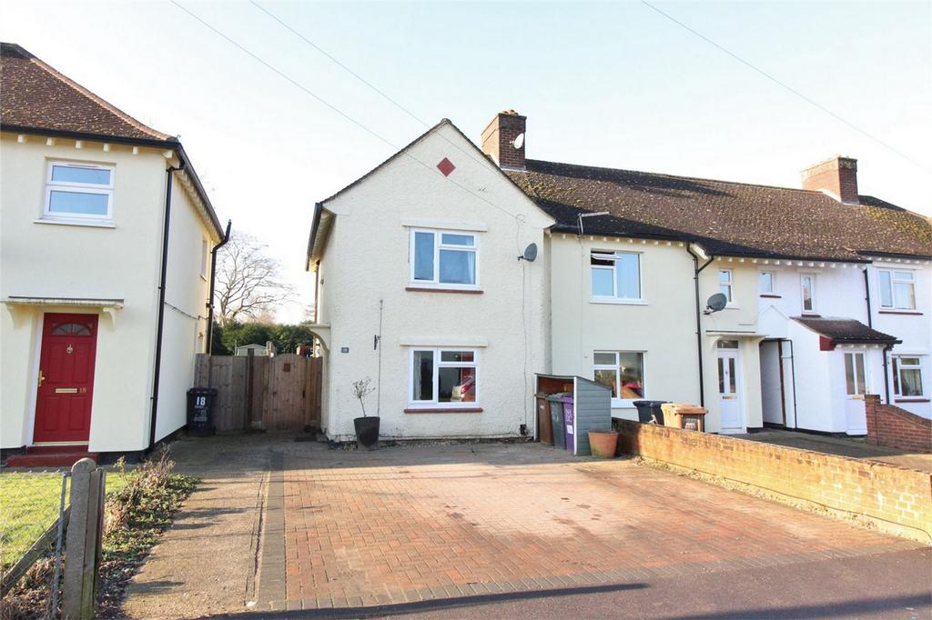 3 Bedrooms End Of Terrace House for sale in Mattocke Road, Hitchin, Hertfordshire