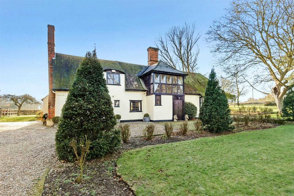 6 Bedrooms Detached House for sale in Thurgood House, Bumpstead Road, Hempstead, Nr Saffron Walden
