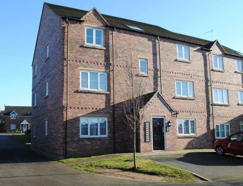 1 Bedroom Apartment Flat for sale in Kidger Close, Shepshed