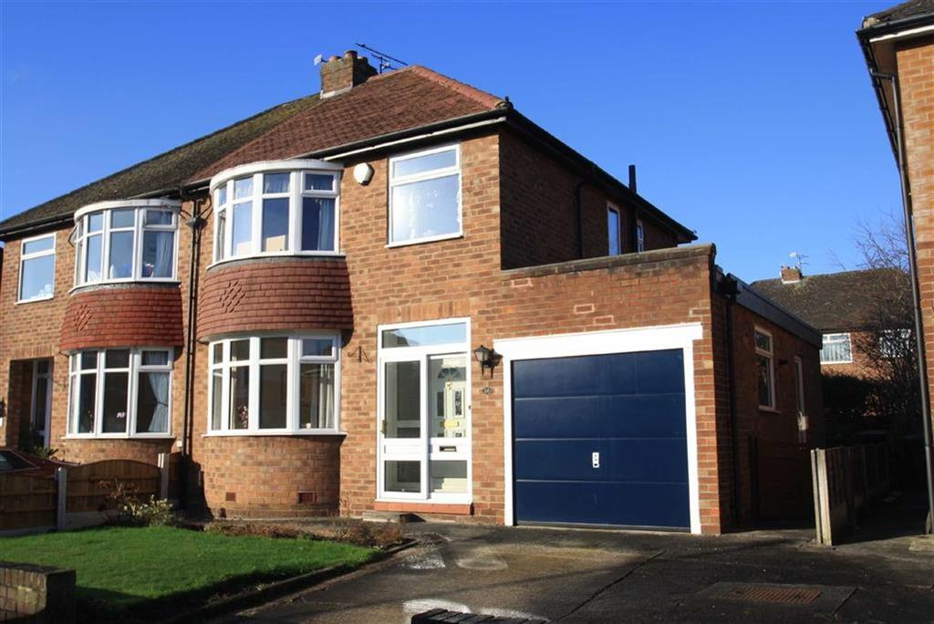 3 Bedrooms Semi Detached House for sale in Coniston Drive, Handforth