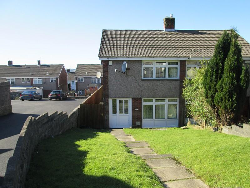 2 Bedrooms Semi Detached House for sale in Heol Awstin Ravenhill, Swansea, City County of Swansea.