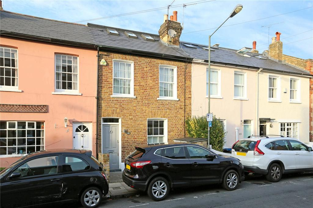 3 Bedrooms Terraced House for sale in Westfields Avenue, Little Chelsea, Barnes, London, SW13