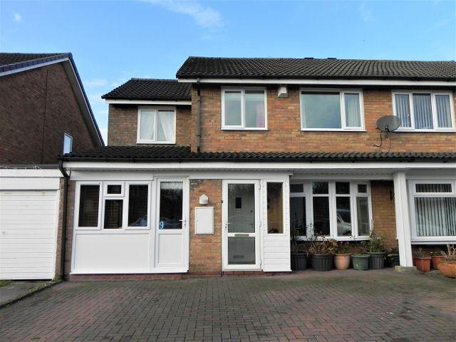 4 Bedrooms Semi Detached House for sale in Cheswood Drive,Minworth,Sutton Coldfield