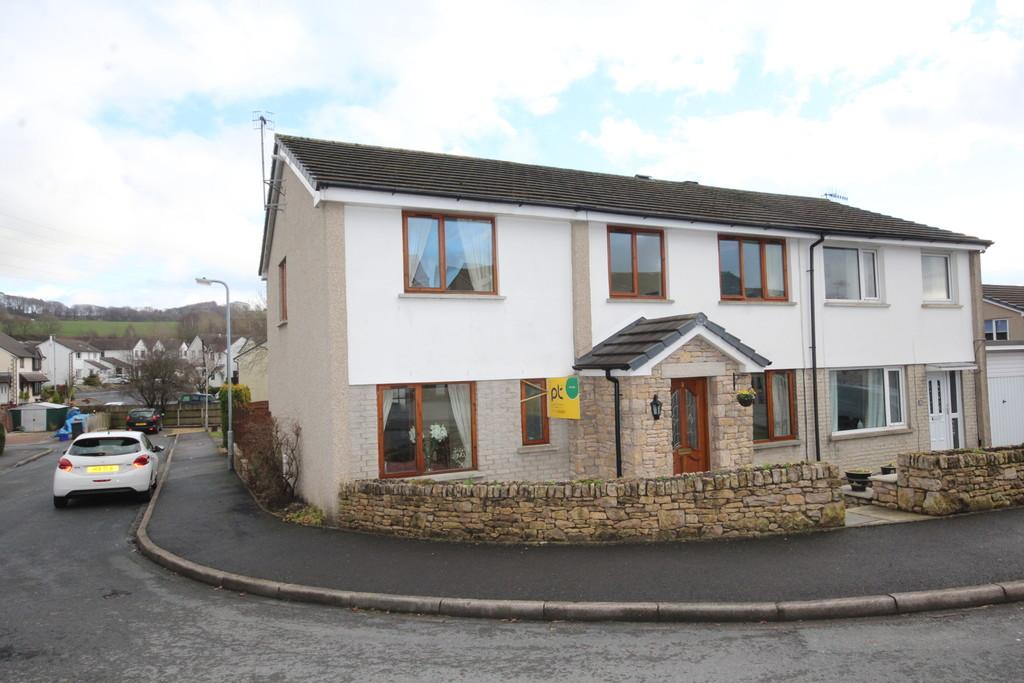 4 Bedrooms Semi Detached House for sale in 9 Mayfield Drive, Kendal
