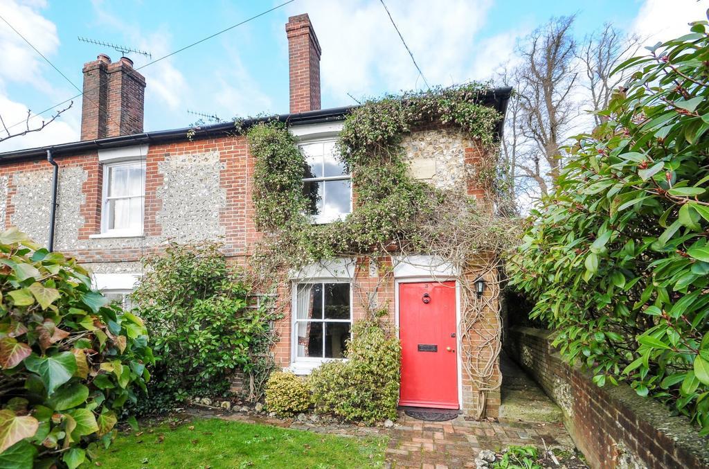 2 Bedrooms End Of Terrace House for sale in Flint Cottages, Blendworth Lane, Horndean, PO8