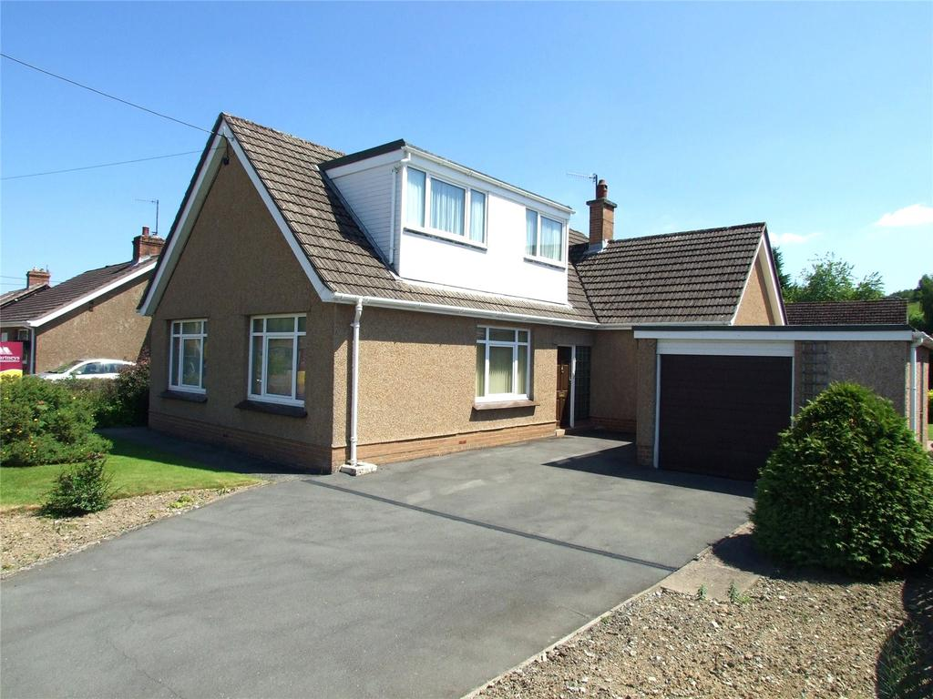 4 Bedrooms Detached Bungalow for sale in Irfon Road, Builth Wells, Powys
