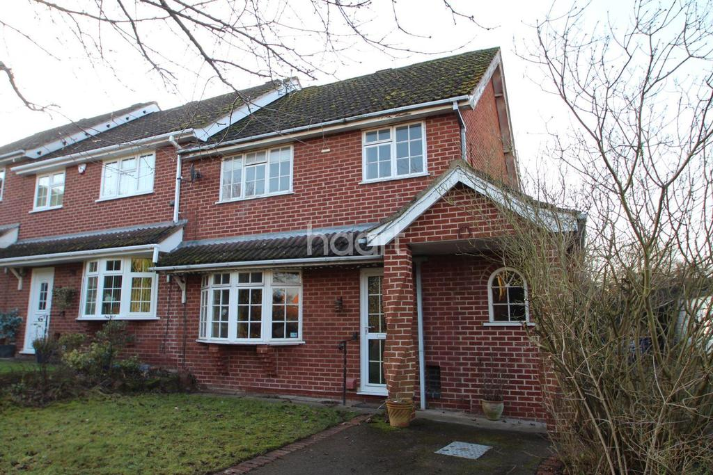 3 Bedrooms End Of Terrace House for sale in Smithy View,Calverton, Nottinghamshire