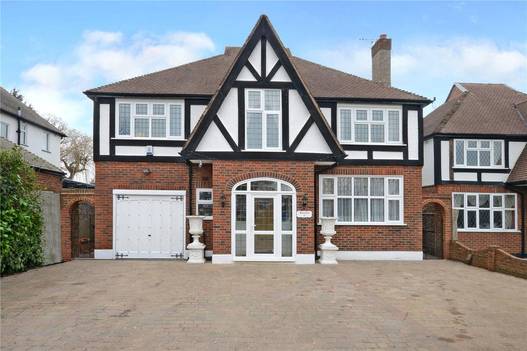 4 Bedrooms Detached House for sale in Gomshall Road, Cheam, Sutton, SM2