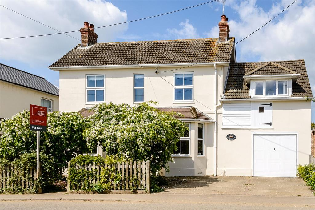 4 Bedrooms Detached House for sale in Upper Station Road, Henfield, West Sussex