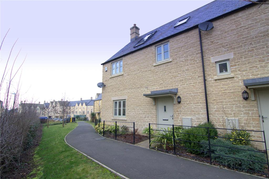 4 Bedrooms End Of Terrace House for sale in Matthews Walk, Cirencester, GL7