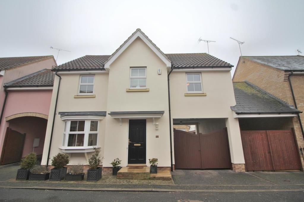 4 Bedrooms Link Detached House for sale in Old Moors, Great Leighs, Chelmsford, Essex, CM3
