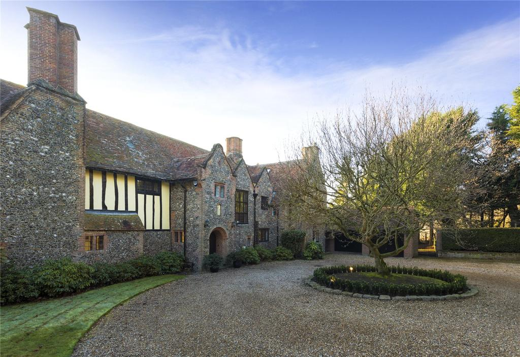 7 Bedrooms Detached House for sale in Palmars Cross Hill, Upper Harbledown, Canterbury, Kent, CT2