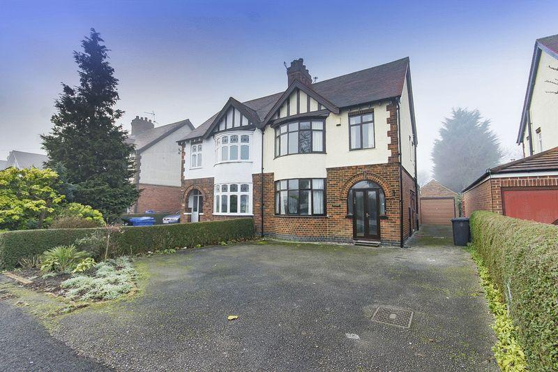 3 Bedrooms Semi Detached House for sale in CHELLASTON ROAD, SHELTON LOCK