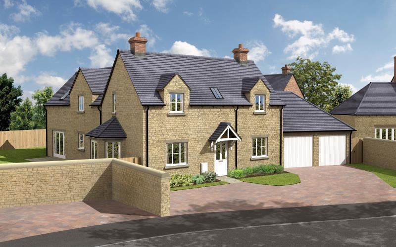 4 Bedrooms Detached House for sale in The Willow, Charity Farm, Woodstock Road, Stonesfield, Witney, Oxfordshire