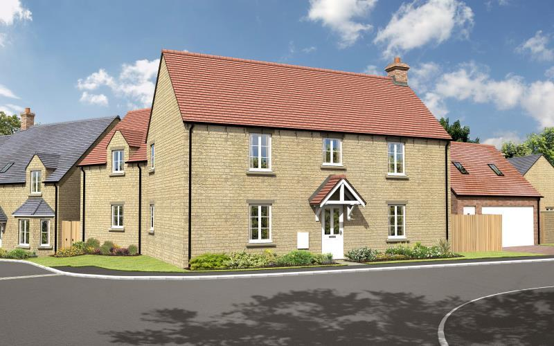 4 Bedrooms Detached House for sale in The Alder, Charity Farm, Woodstock Road, Stonesfield, Witney, Oxfordshire