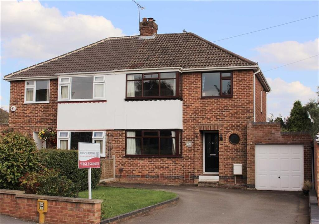 3 Bedrooms Semi Detached House for sale in Stirling Avenue, Leamington Spa, CV32