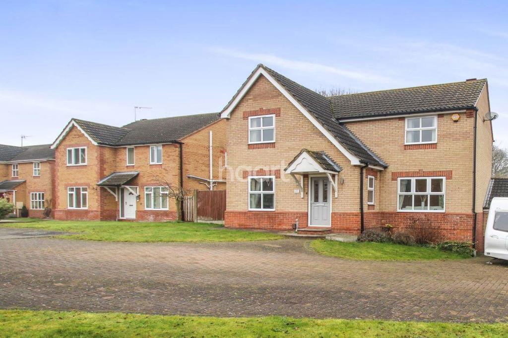 4 Bedrooms Detached House for sale in Kenyon Close, Heighington, Lincoln, LN4