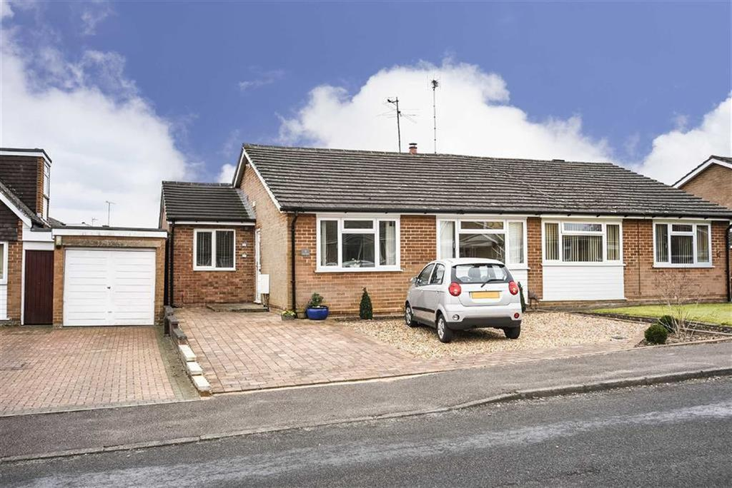 3 Bedrooms Semi Detached Bungalow for sale in Field Close, Harpenden, Hertfordshire, AL5