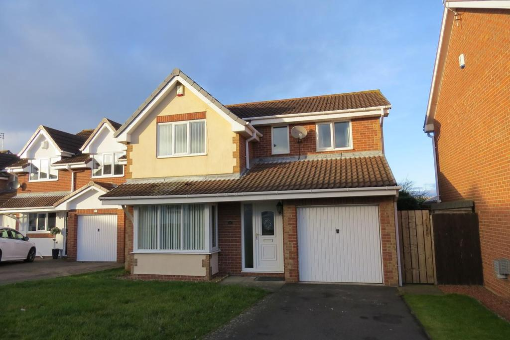 4 Bedrooms Detached House for sale in Scoular Drive, Fairmeadows, Ashington