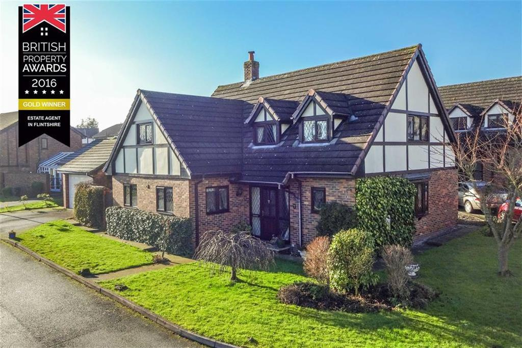 4 Bedrooms Detached House for sale in Cae Haf, Northop Hall, Mold
