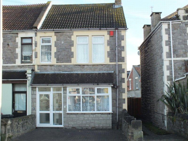 4 Bedrooms Semi Detached House for sale in Devonshire Road, Weston-Super-Mare, North Somerset, BS23